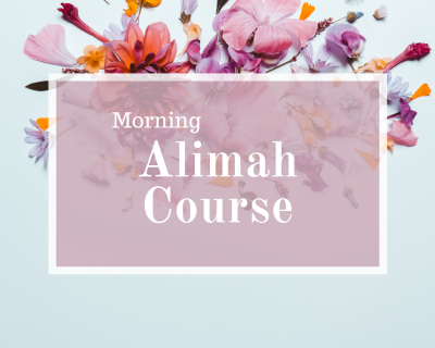 Morning Alimah Course