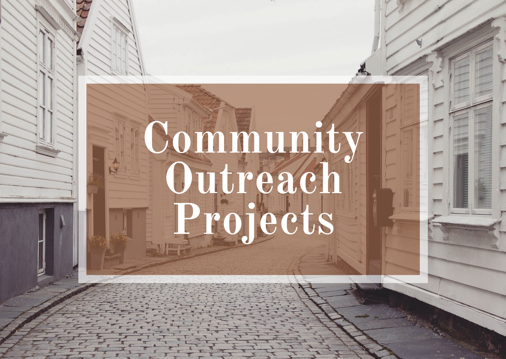 Community Outreach Projects