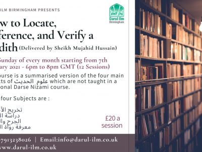 How to Locate, Reference, and Verify a Hadith