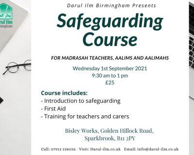 Safeguarding Course